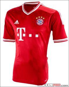 c5fa76a8baca1 adidas Bayern Munich Home Jersey 2013-2014 - SoccerPro.com