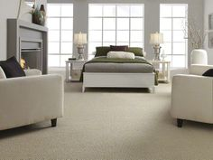 Loop Carpeting in style Careless Whisper color Nutty Beige - By Shaw Floors