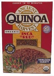 Quinoa is low in FODMAPs but high in protein. Great choice for vegetarians and vegans.