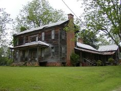 Old House in the 1800 | ... Old and Aging in the Deep South > 1800's Farm House in Eastaboga
