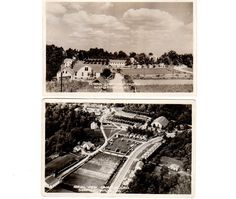 Vintage 1950's Shepherdsville Kentucky Postcards Lot of 2 Camp Ground Aerial View