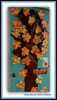 Classroom Door Decorations For Fall my fall classroom door. | education | pinterest | fall classroom