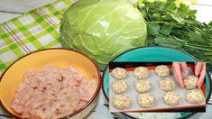 Odporúčam do fašírok pridať namiesto kapusty aj cuketu, sú vynikajúce na každý spôsob.Potrebujeme:Mleté kuracie mäso 600 gMladá kapusta 200 gMozzarella 80 gKôpor ½ lyžičkySoľ a mleté korenie1 vajce½ lyžičky cesnakového práškuMajoránkaPostup:V hlbokej miske premiešame mleté … Lettuce, Cabbage, Mozzarella, Vegetables, Food, Veggies, Essen, Cabbages, Vegetable Recipes