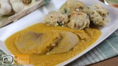 Vadas gomboccal Hungarian Recipes, Hungarian Food, Cantaloupe, Mashed Potatoes, Food And Drink, Cooking Recipes, Dishes, Chicken, Meat