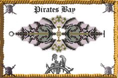 Excalibur Cuff/Bracelet   Miyuki Delica PDF by PiratesOfTheBeads, $6.00