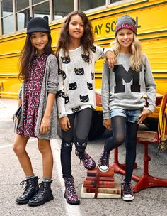 H&M launched its Kids Autumn 2014 lookbook just in time for back-to-school featuring a collection…