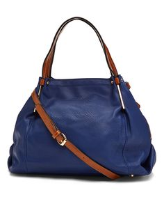 44dc41108ece0 This Navy Metal Hardware Hobo by Tosca is perfect!  zulilyfinds Purses And  Handbags
