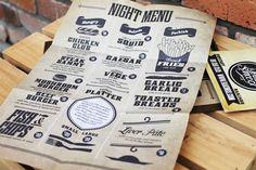 Neat menu by A Plus Design, NZ
