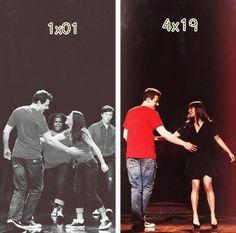 parallels.  Don't Stop Believin'