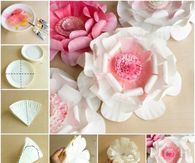 How To Make Paper Plate Flowers
