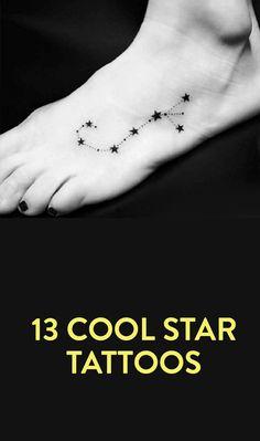 13 Cool Star Tattoos                                                       …