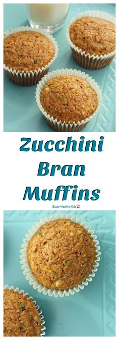 FOOD - Zucchini Bran Muffins. Here it is! The biggest lie about muffins. http://www.superhealthykids.com/zucchini-bran-muffins/