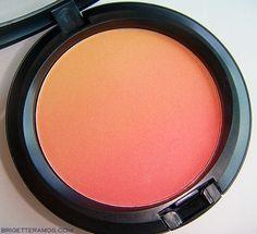 MAC Ripe Peach blush so pretty - Beauty Darling
