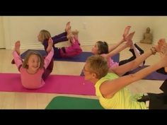 Yoga for Kids -Full Yoga Class #31 - Kids Yoga - with Guest Instr - 30 min