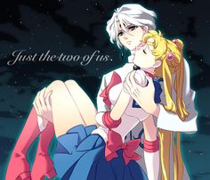 Prince Diamond kissing Sailor Moon | usagi tsukino # sailor moon # nice fan art # i like it