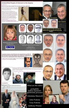 Politically explosive Clinton campaign link to international child pornography ring and child abduction of madeleine McCann