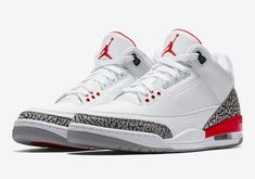 """8ae895f3d1f0 The Air Jordan 3 """"Katrina"""" will officially release on Saturday"""