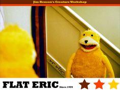 Flat Eric, Mr. Oizo Pop Toys, Music Images, Jim Henson, Childhood Memories, Dinosaur Stuffed Animal, Creatures, Teddy Bear, Flats, Comics