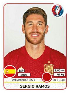 EURO 2016 - Sergio Ramos - España