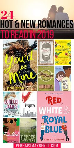24 Hot New Romance Novels of 2019 Here are 24 upcoming romance books that you need to put on your 'to be read' list of New Romance Novels, Good Romance Books, Historical Romance, I Love Books, Good Books, Books To Read, Book Club Books, Book Lists, Reading Lists