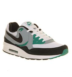 brand new cf16d 1d5af Nike Air Max Light Essential White Black Mystic Green - His trainers