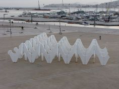 expanded polystyrene art installation - Google Search