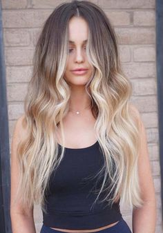 Using the balayage hair colors with amazing long curls is no doubt one of the best ideas for ladies in 2018. Explore here the most beautiful and cute trends of blowout long curls haircuts with balayage hair colors highlights. Just browse here and see how these amazing curls look fresh and cute.