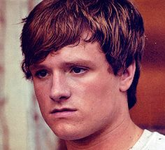 Josh Hutcherson as Peeta in the Hunger Games. Oh yes.
