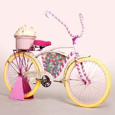 it looks like a candycrush bicycle jajaja