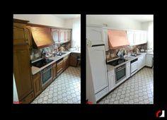 Witte Keuken Schilderen : Beste afbeeldingen van keuken keukenkastjes keukenfrontjes