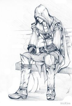 Ezio Auditore da Firenze, you're not Altaïr but I still like you. Yes, I admitt, I've a weakness for young Assassins...what can I do?