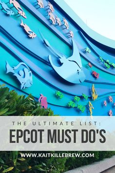 Epcot Must Do's | Disney Vacation Planning | Disney Planning | Epcot Things To Do | Epcot Attractions | Epcot Tips | Epcot Food | Epcot Events | Epcot Tours | Epcot Secrets | Walt Disney World | Disney Trip Planning