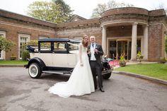 #brideandgroom #weddingphotography #decourceysmanor #cardiffwedding #wedding #weddingcar #vintageweddingcar
