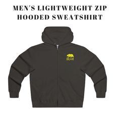 Bring the unique comfort, coverage & style with the new elegant Men's Lightweight Zip Hooded Sweatshirt made from extremely soft, premium lightweight fleece to serve you a perfect slim fit. Specifications: 80% Soft cotton; 20% Polyester, Medium fabric (8.0 oz/yd² (271 g/m²)), Sewn in the label, Runs true to size.   For more details, browse now: gearbybear.com Hooded Sweatshirts, Hoodies, Elegant Man, Zip Hoodie, Men's Fashion, Label, Slim, Medium, Unique