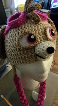 Crochet Hat Pattern Paw Patrol : Marshall from paw patrol My Crochet items Pinterest ...