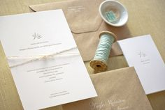 Custom Design Social Stationery by Sugar Paper | Oh So Beautiful Paper