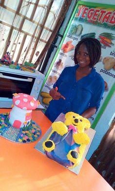 The mushroom cake that house's fairies #MumaCulinarySchool #impactLifeEntrepreneurshipCentre #Benuebaker #designtoinspire