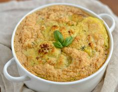 Easy Cauliflower Soufflé Bake