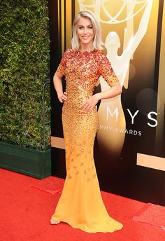 Julianne Hough- UUD144L- The 2015 Creative Arts Emmy Awards #JennyPackham www.jennypackham.com