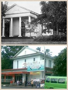 Kantor pos Dutch East Indies, Bogor, Pos, Interior Architecture, Vintage Photos, College, History, House Styles, Places