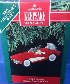 1991 Hallmark 1957 Corvette Retired Series by ShoppingJustForYou