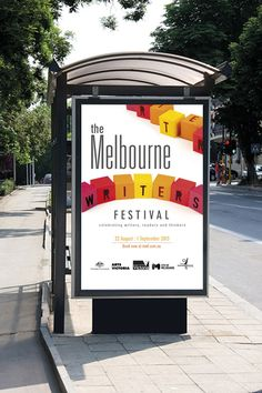 The Melbourne Writers Festival on Behance
