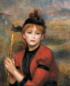 La promeneuse (The walker) by Renoir, Pierre-Auguste