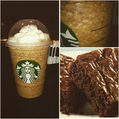 If you're a fan of Double Chocolate Fudge Brownies, you'll love the fact that they actually blend a brownie in the OMG Brownie Frappuccino !!