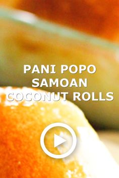 Samoan Coconut Rolls (Pani Popo) Pani Popo is a Samoan sweet roll baked in a delicious coconut sauce. One of my favorite Pacific-Island dishes from my bakery days in Hawaii. Coconut Roll Recipe, Coconut Buns, Coconut Sauce, Samoan Bread Recipe, Samoan Recipes, Hawaiian Baby, Hawaiian Sweet Rolls, Baby Food Recipes, Family Recipes