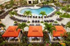 Hawaii.. Hilton Hawaiian Village Waikiki Beach Resort Tapa Pool