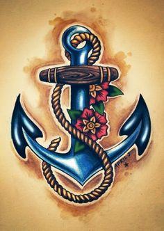 Desenhos de Tatuagem de Âncora                                                                                                                                                                                 Mais
