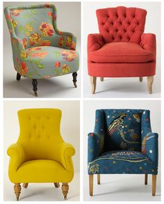 danielle oakey interiors: Thrifty Tuesday: Anthropologie Chair Look-a-likes!