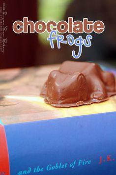 Sugar Bean Bakers: { Chocolate Frogs }