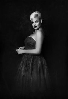 Photography and Editing - Lori Cicchini for Loriana Fotografia  Gowns, Accessories and Styling - Vicky Kidd-Gallichan for Rockstars and Royalty  Models - Stefania Ferrario and Joshua Sutevski Makeup - Kimi Sanders for What Would Blair Do?  Hair - Jeanice Brance for Guerilla Hair